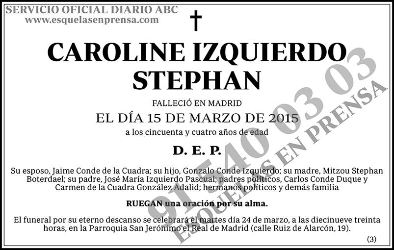 Caroline Izquierdo Stephan